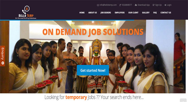 Hello Temp – On Demand Staffing